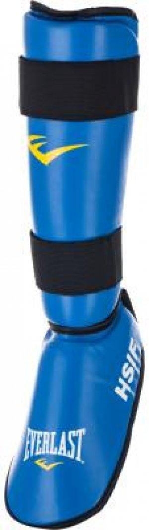 Защита голени и стопы Everlast. Цвет: синий