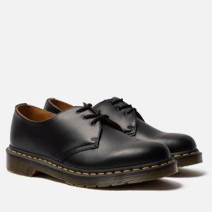 Ботинки 1461 Smooth Dr. Martens. Цвет: чёрный