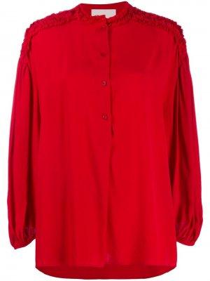 Блузка Dafoe 8pm. Цвет: красный