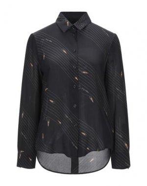 Pубашка BAND OF OUTSIDERS. Цвет: черный
