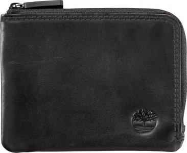 Мелкая и кожаная галантерея Waterproof zip wallet Timberland. Цвет: черный