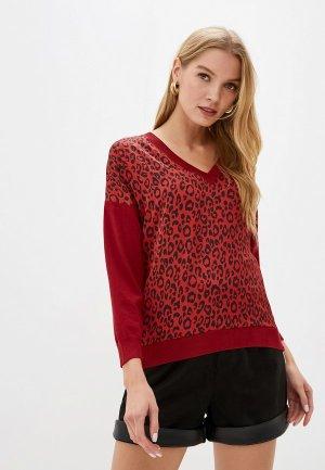 Пуловер Love Republic. Цвет: красный