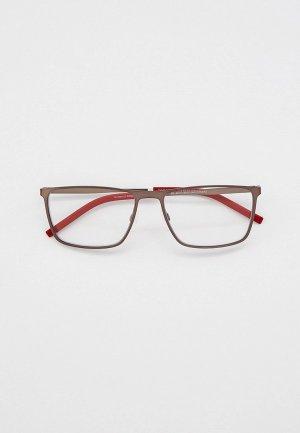 Очки солнцезащитные Tommy Hilfiger TH 1803/CS R80. Цвет: коричневый