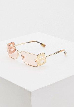 Очки солнцезащитные Burberry BE3110 1017/5. Цвет: золотой