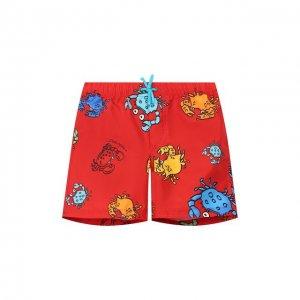 Плавки-шорты Dolce & Gabbana. Цвет: красный