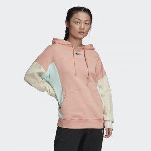 Худи R.Y.V. Originals adidas. Цвет: розовый