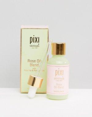 Питательное масло для лица с экстрактом розы -Nourishing Rose Oil Blend, 30мл-Бесцветный Pixi