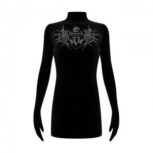 Платье VETEMENTS. Цвет: чёрный