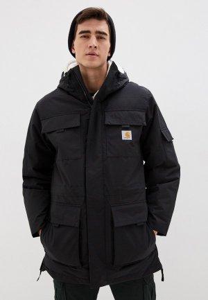 Куртка утепленная Carhartt Hendon. Цвет: черный