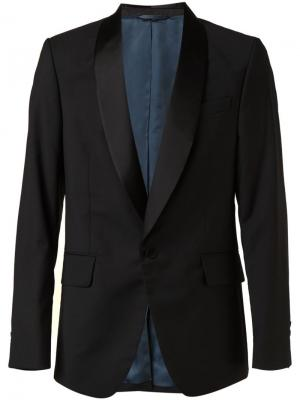 Пиджак-смокинг Vivienne Westwood Man. Цвет: чёрный