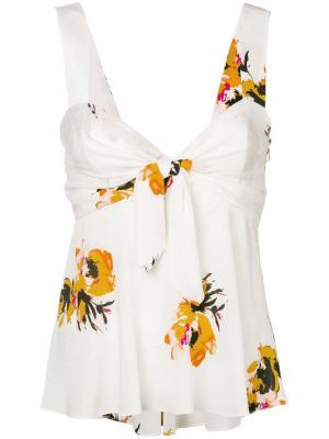 Floral babydoll camisole A.L.C.