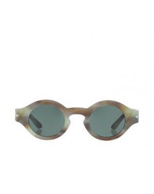 Солнечные очки GIORGIO ARMANI. Цвет: шалфейно-зелёный