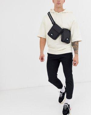 Черная сумка-кошелек на пояс -Черный Kappa
