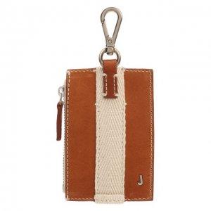 Кожаный кошелек для монет Jacquemus. Цвет: коричневый