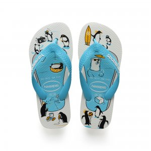 Kids Top Play Havaianas. Цвет: голубой