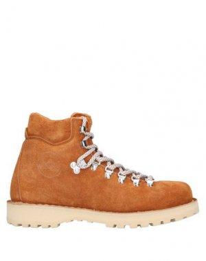 Полусапоги и высокие ботинки DIEMME. Цвет: коричневый