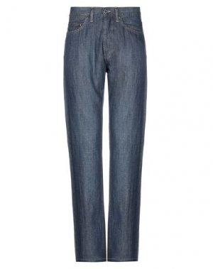 Джинсовые брюки LACOSTE. Цвет: синий