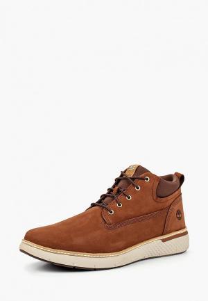 Ботинки Timberland CROSS MARK PT CHUKKA COGNAC. Цвет: коричневый