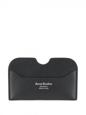 Картхолдер Elmas с логотипом Acne Studios. Цвет: черный