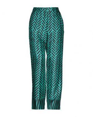 Повседневные брюки ATTIC AND BARN. Цвет: изумрудно-зеленый