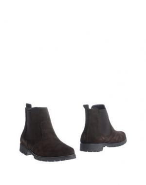 Полусапоги и высокие ботинки LALÙ. Цвет: темно-коричневый