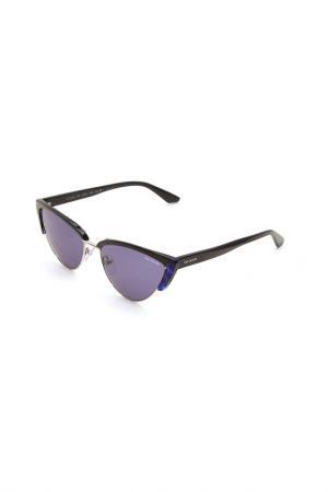 Очки солнцезащитные Guy Laroche. Цвет: 544 серебристый, синий