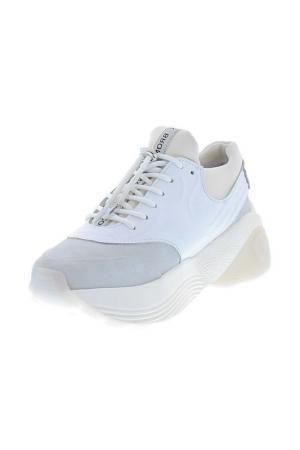 Кроссовки BRONX. Цвет: white, grey, beige