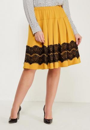 Юбка Darissa Fashion. Цвет: желтый