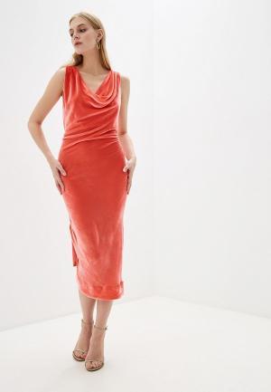 Платье Vivienne Westwood Anglomania. Цвет: коралловый