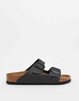 Черные сандалии из искусственной кожи -Черный Birkenstock