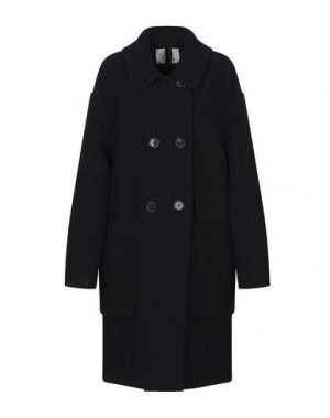 Пальто ATTIC AND BARN. Цвет: темно-синий