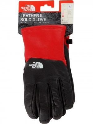 Перчатки с логотипом Supreme. Цвет: черный