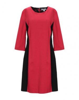 Короткое платье FUEGO WOMAN. Цвет: красный