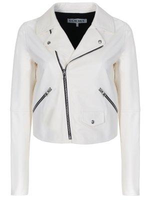 Кожаная куртка-косуха LOEWE