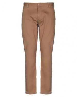 Повседневные брюки DOCKERS KHAKIS. Цвет: верблюжий