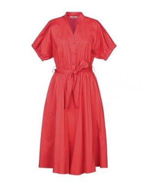 Платье длиной 3/4 FLY GIRL. Цвет: красный