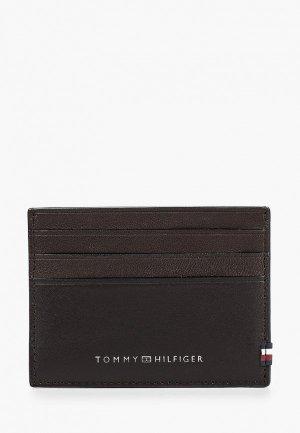 Визитница Tommy Hilfiger. Цвет: коричневый