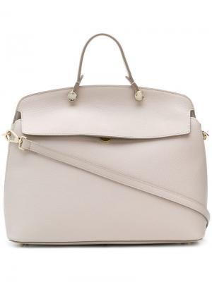 My Piper tote bag Furla. Цвет: нейтральные цвета