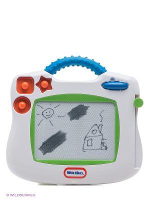 Игрушка Планшет магнитный для рисования двусторонний Little Tikes. Цвет: белый, зеленый