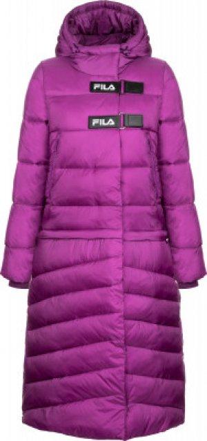 Куртка утепленная женская , размер 46 FILA. Цвет: фиолетовый