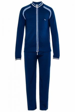Спортивный костюм CASTANGIA. Цвет: темно-синий