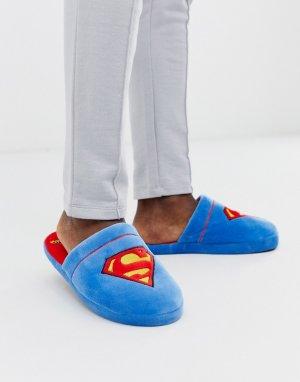 Слиперы с Суперменом Fizz-Синий Fizz Creations