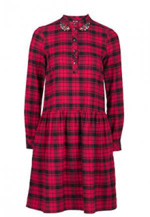 Платье MYTWIN. Цвет: красный