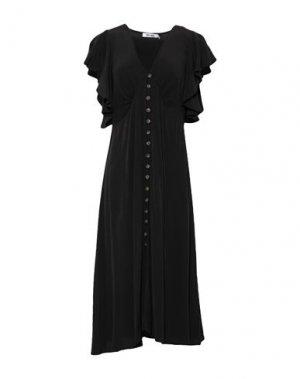 Платье до колена DRY LAKE.. Цвет: черный