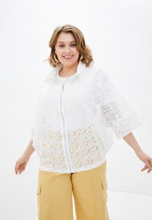 Куртка Modress. Цвет: белый