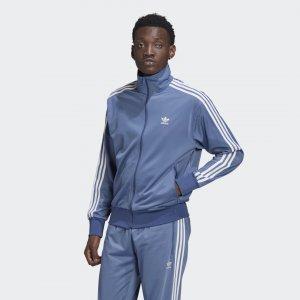 Олимпийка Adicolor Classics Firebird Originals adidas. Цвет: синий
