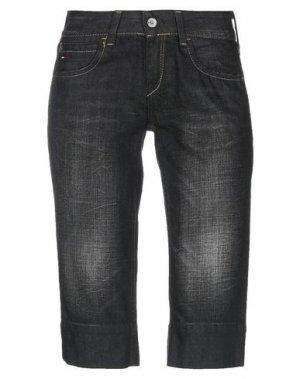 Джинсовые брюки-капри TOMMY JEANS. Цвет: черный