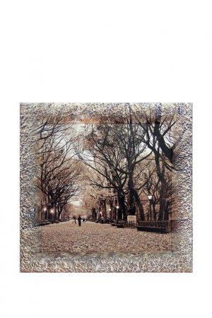 Картина-репродукция Парк 1 Декарт. Цвет: коричневый