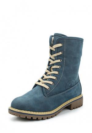 Ботинки Instreet. Цвет: синий