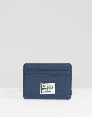 Визитница Charlie Herschel Supply Co. Цвет: темно-синий